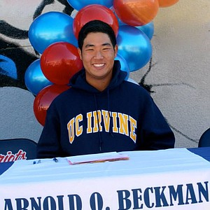 Johnny Hyun signed with UC Irvine.