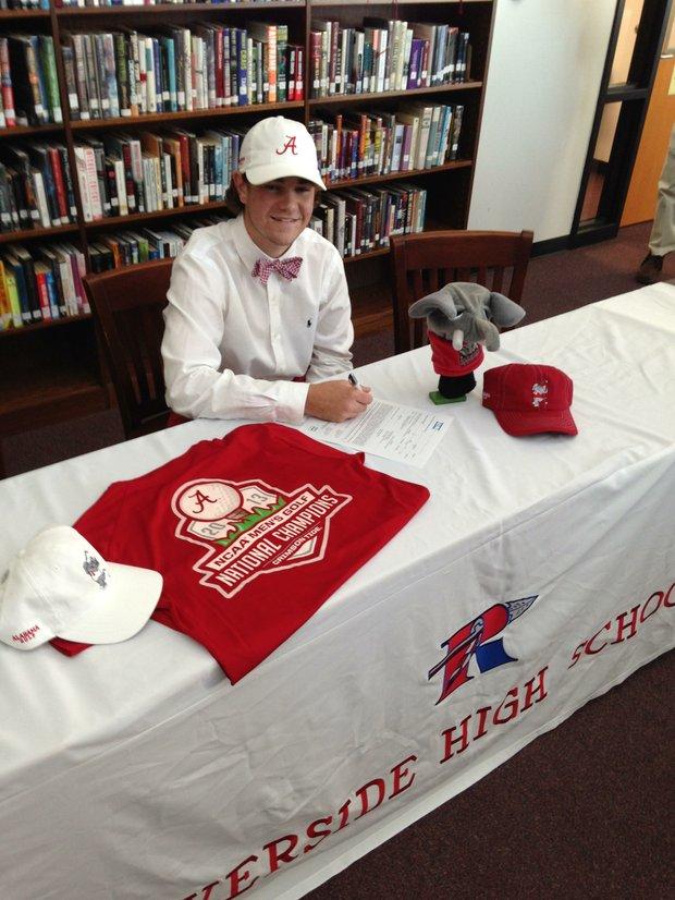 Jonathan Hardee signed with Alabama.