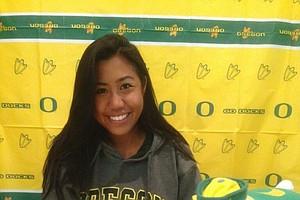 Kelsey Ulep signed with Oregon.