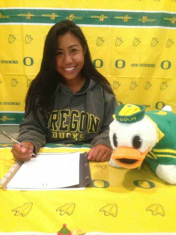 Kelsey Ulep signed with Oregon.