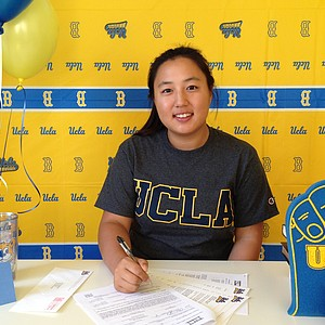 Lydia Choi signed with UCLA.