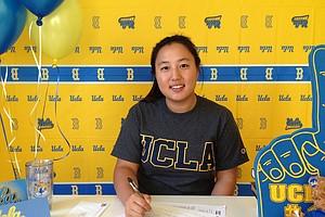 Lydia Choi signed with UCLA.