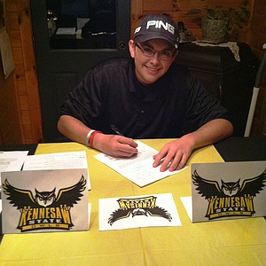 Wyatt Larkin signed with Kennesaw State.