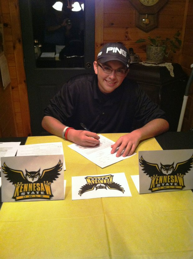 Wyatt Larkin signed with Kennesaw State.