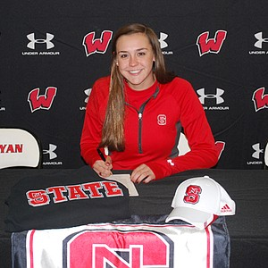Cecily Overbey signed with North Carolina State on Nov. 13