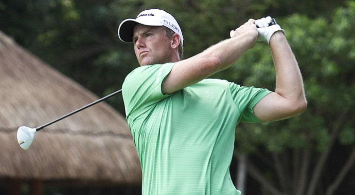 Robert Karlsson during the OHL Classic at Mayakoba.