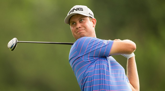 Harris English during the OHL Classic at Mayakoba.