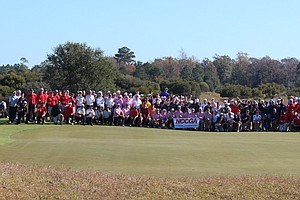 The field for the NCCGA National Championship, played Nov. 16-17 at Barefoot Resort in Myrtle Beach, S.C.