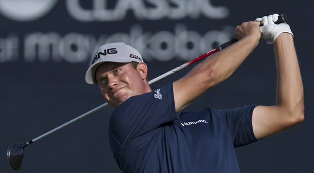 Harris English during the final round of his PGA Tour win in the 2013 OHL Classic at Mayakoba.