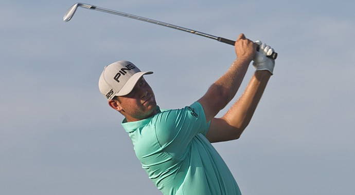 Harris English during the PGA Tour's 2013 OHL Classic at Mayakoba.