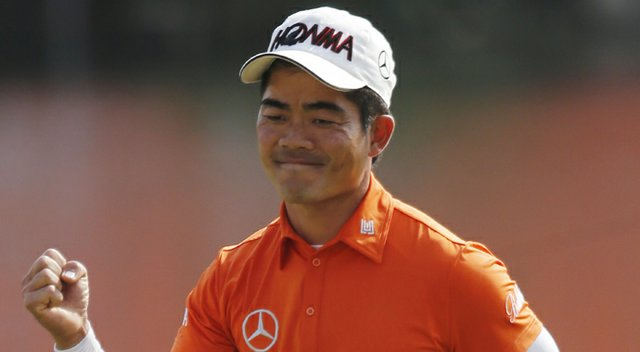 2013 Manila Masters winner Liang Wen-chong is shown earlier in the year during HSBC Champions in his native China.