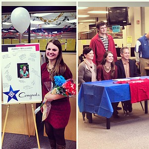 Abbey Williams signed with Florida Southern.