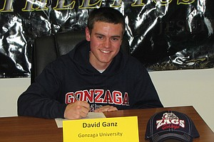 David Ganz signed with Gonzaga.