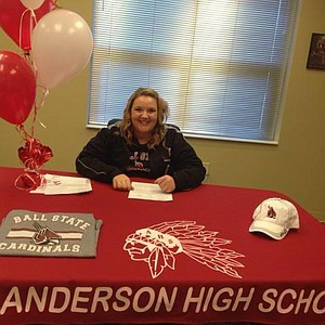 Morgan Nadaline signed with Ball State.