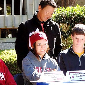 "Thamonpat ""Pear"" Siriko signed with Indiana."