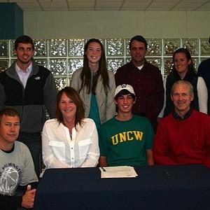 Thomas Eldridge signed with UNC Wilmington.