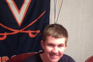 Connor Messick signed with Virginia.