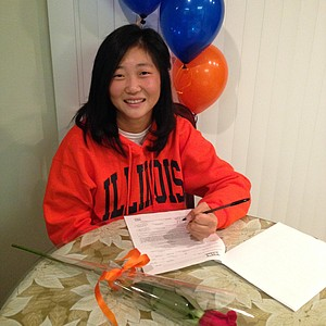 Grace Park signed with Illinois.