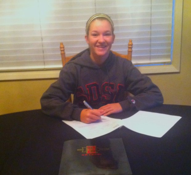 Haleigh Krause signed with San Diego State.