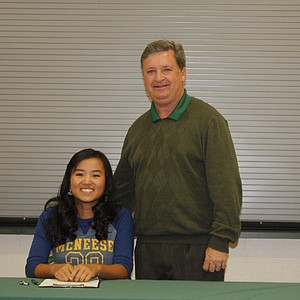 Hannah Valentine signed with McNeese State.
