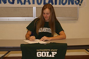 Katie Dunaway signed with Sacramento State.
