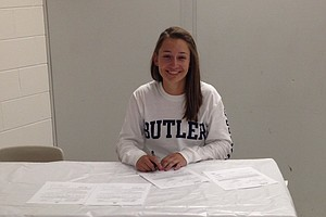 Kelsey McDougall signed with Butler.