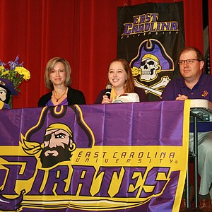 Victoria Allred signed with East Carolina.