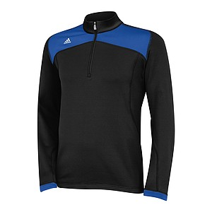 The adidas Golf climawarm+ collection was designed to keep golfers warm in cold conditions without sacrificing range of motion during the golf swing. The climawarm+ allows the fabric to be warmer but lighter than typical layering materials. The apparel is the warmest golf outerwear adidas Golf as ever created. 