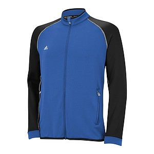 The adidas Golf climawarm+ collection was designed to keep golfers warm in cold conditions without sacrificing range of motion during the golf swing. The climawarm+ allows the fabric to be warmer but lighter than typical layering materials. The apparel is the warmest golf outerwear adidas Golf has ever created. 