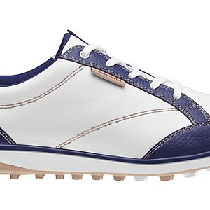 Ashworth's Cardiff ADC spikeless shoe was redesigned to enhance comfort, functionality and the performance of a traditional golf shoe with a revamped style and versatile casual shoes, according to Ashworth. With the new spikeless outsole, the shoe was designed for more stability and traction in dry and wet conditions. Price: $120 (men and women - shown above)
