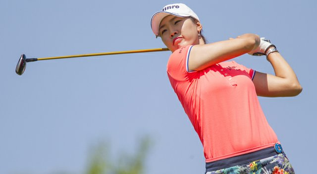 Hee Kyung Seo during the 2013 LPGA Lotte Championship.