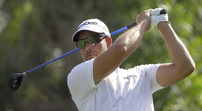 Henrik Stenson during his European Tour season-title-clinching win at the the DP World Tour Championship in Dubai.