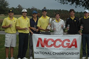 Michigan won the first NCCGA national title in program history on Nov. 17.