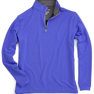 The Perth Stretch Performance Quarter-Zip in Sapphire is the performance wear for changing weather conditions. Peter Millar says its material offers good moisture transfer and is quick to dry. Price: $98.50