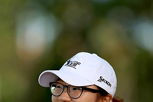 Lydia Ko makes her professional debut at the CME Group Titleholders at Tiburon Golf Club in Naples, Fla.