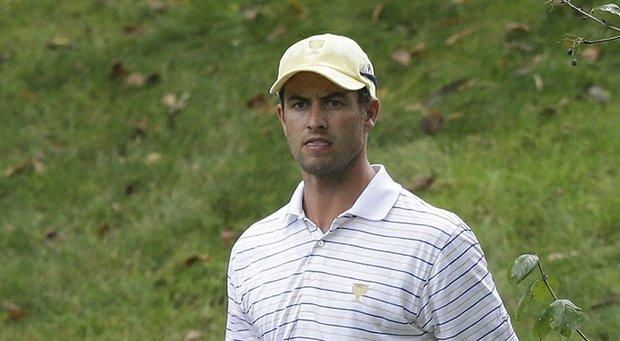 Adam Scott of Australia during the 2013 Presidents Cup.