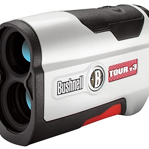 Bushnell introduces the Tour v3 Rangefinder. This rangefinder has JOLT Technology, which according to Bushnell, eliminates all doubt by delivering short vibrating bursts to reinforce the laser locked on the flag. It sets the standard for being the complete laser package – design, performance and feel. Price: $299.99
