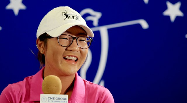 Lydia Ko talks on the eve of her professional debut in LPGA play at the 2013 CME Group Titleholders.