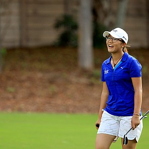 Lydia Ko made her professional debut at the CME Group Titleholders at Tiburon Golf Club in Naples, Fla.