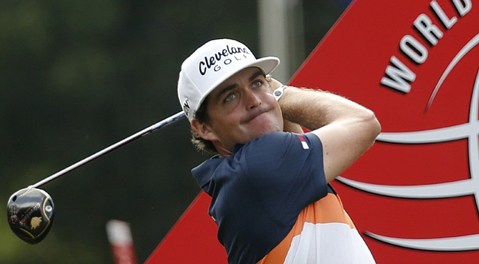 Keegan Bradley during the 2013 WGC-HSBC Champions in China.
