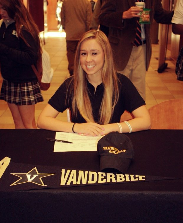 Alexandra Farnsworth signed with Vanderbilt.