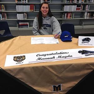 Hannah Magda signed with Eastern Illinois.