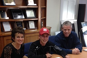 Patrick Flavin signed with Miami (Ohio).