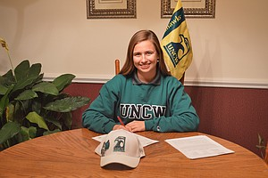 Alaina Yeatts signed with UNC Wilmington.