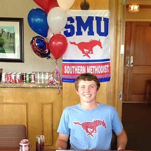 Benjamin Baxter signed with SMU.