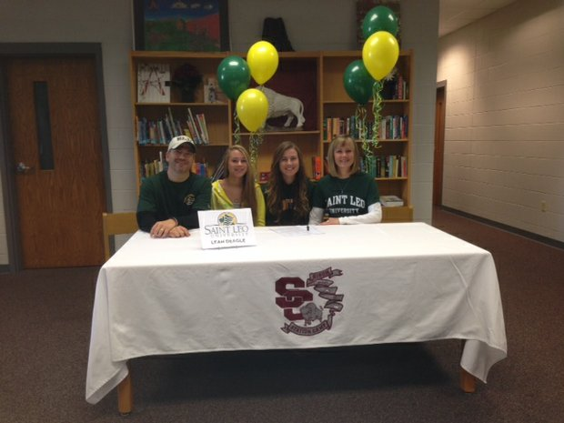 Leah Deagle signed with St. Leo.