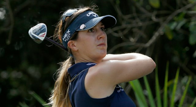 Sandra Gal during the second round of the 2013 LPGA CME Group Titleholders.