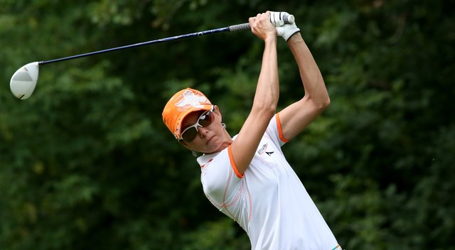 Stacy Prammanasudh during the 2013 CN Canadian Women's Open.