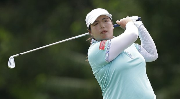 Shanshan Feng, who won the 2013 CME Group Titleholders Classic, is shown a month earlier during LPGA play in Malaysia.