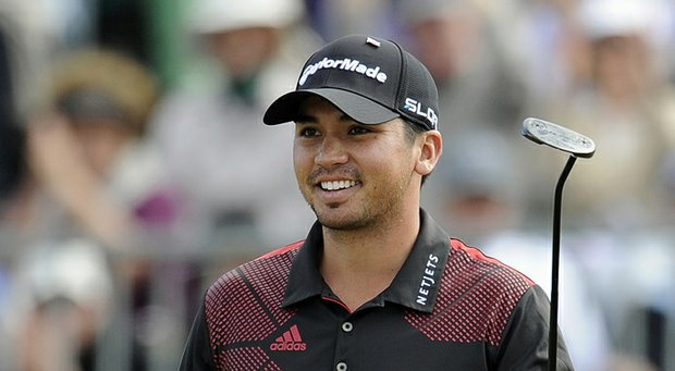 Jason Day after winning the 2013 World Cup of Golf.